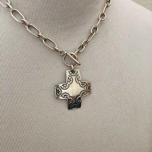 Virtuosity Cross Necklace